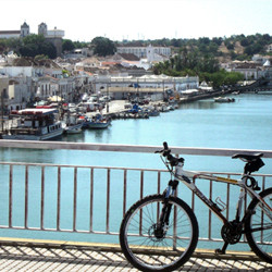 Cycling through Southeast of Portugal