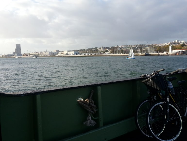 Ferry crossing, Tejo River, Cycling Holidays