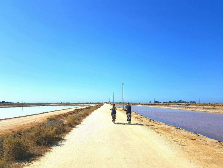 Cycling in Ria Formosa Natural Park