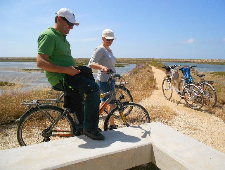 Cycling Portugal, Ria Formosa Natural Park