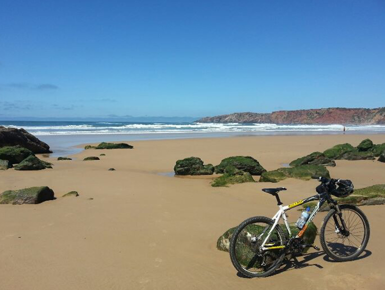 Algarve west coast beach: Cycling in Algarve | MegaSport Travel