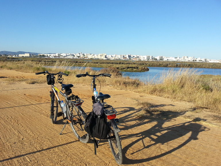 Bike Tour sights of Faro city in Algarve cycling holidays | MegaSport Travel