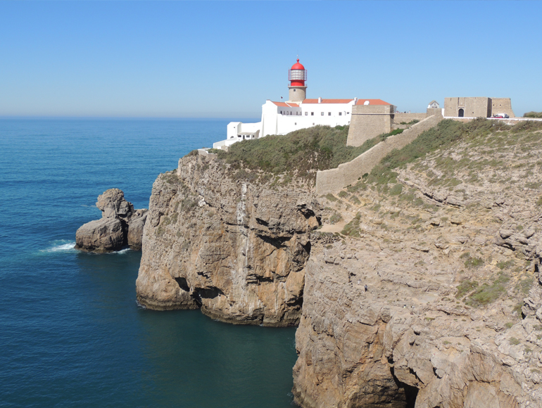 Cape of San Vicent, sea view from Cycling Coast to Coast Cycling Holidays | MegaSport Travel