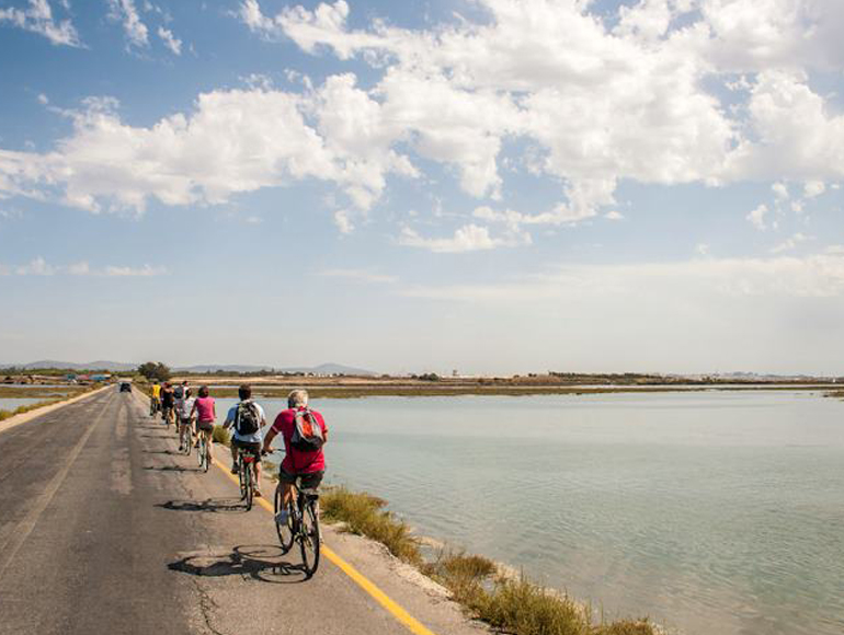 Touring near ria Formosa one of the best beaches in Algarve | MegaSport Travel