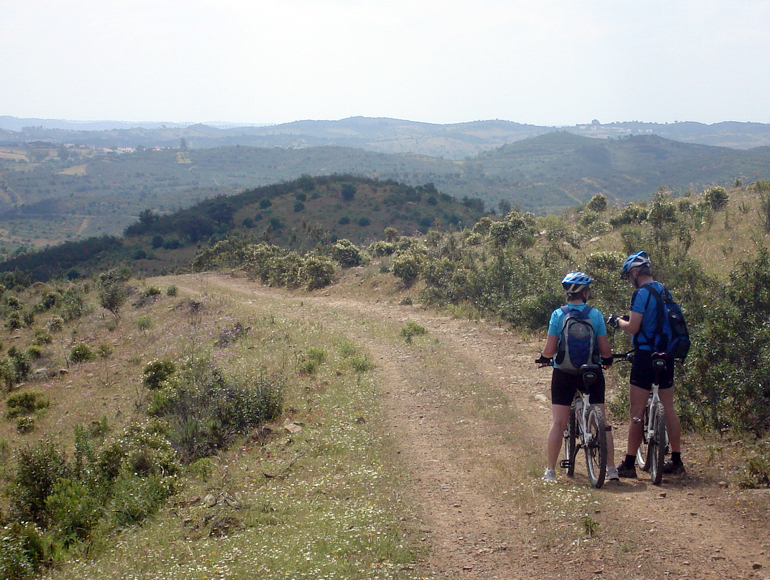 Sight of Algarve moutains: Book Moutain Biking Algarve | MegaSport Travel