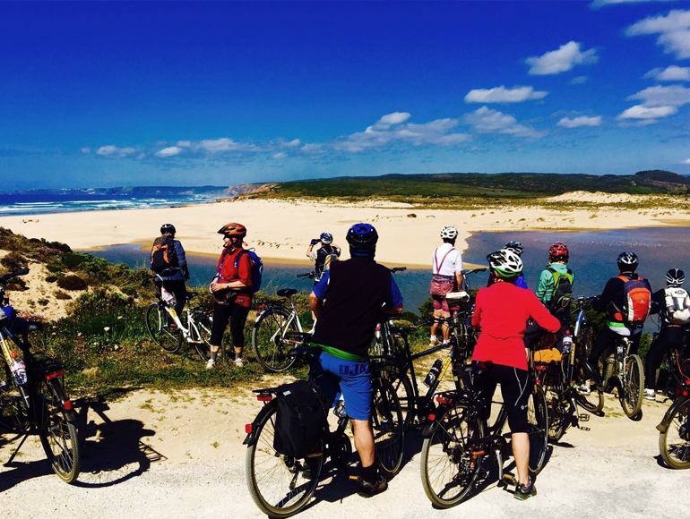 Ocean sight in bike Tours through Algarve Mountains | MegaSport Travel
