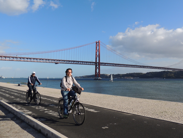 Bike touring near Tejo, Lisbon, explore cyclinh holidays | MegaSport Travel