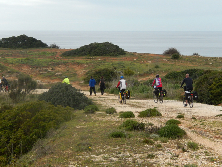 Bike tour group cycling in nature, explore cycling Holidays in Lisbon | MegaSport Travel