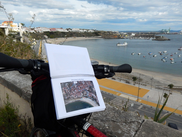 Map sight near the sea for bike tours: explore cylcing holidays | MegaSport Travel