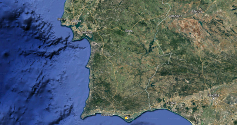 Map of Portugal biking tours: Cycling Portugal North to South | MegaSport Travel