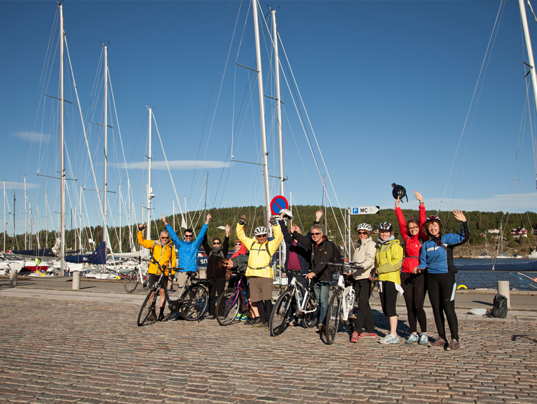 Best tours in Europe, cycling group in Bike Tour in Oslo | MegaSport Travel
