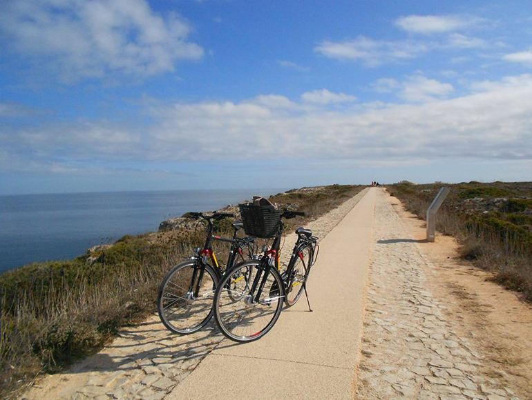 Cycling tour, Sagres Fortress