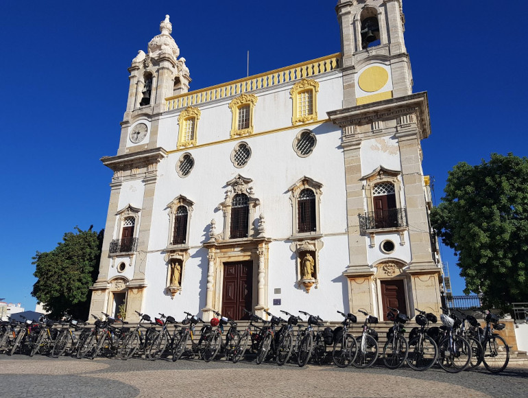 Guided Cycling Holidays, Faro city