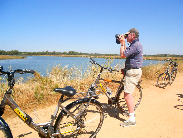 Guided Cycling Tour Ria Formosa Natural Park, Ludo