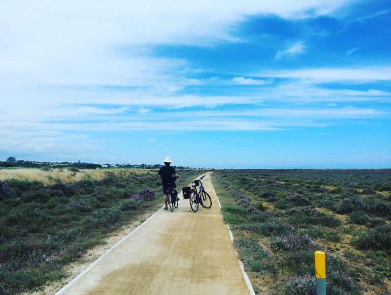 Cycling Ria Formosa Natural park