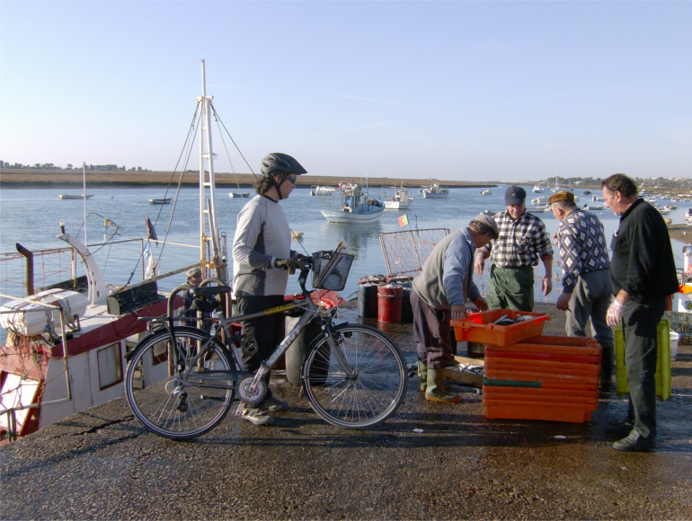 Cycling along the coast, fishing traditions