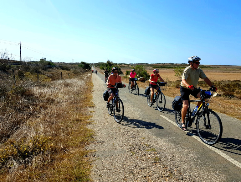 Cycling Holidays, secondary roads