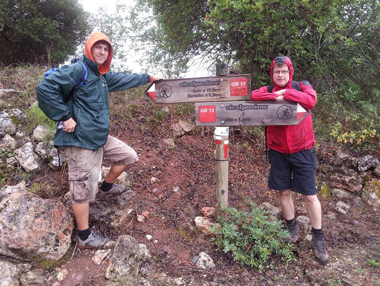 Road signs for via algarviana: Try hiking in Algarve | MegaSport Travel